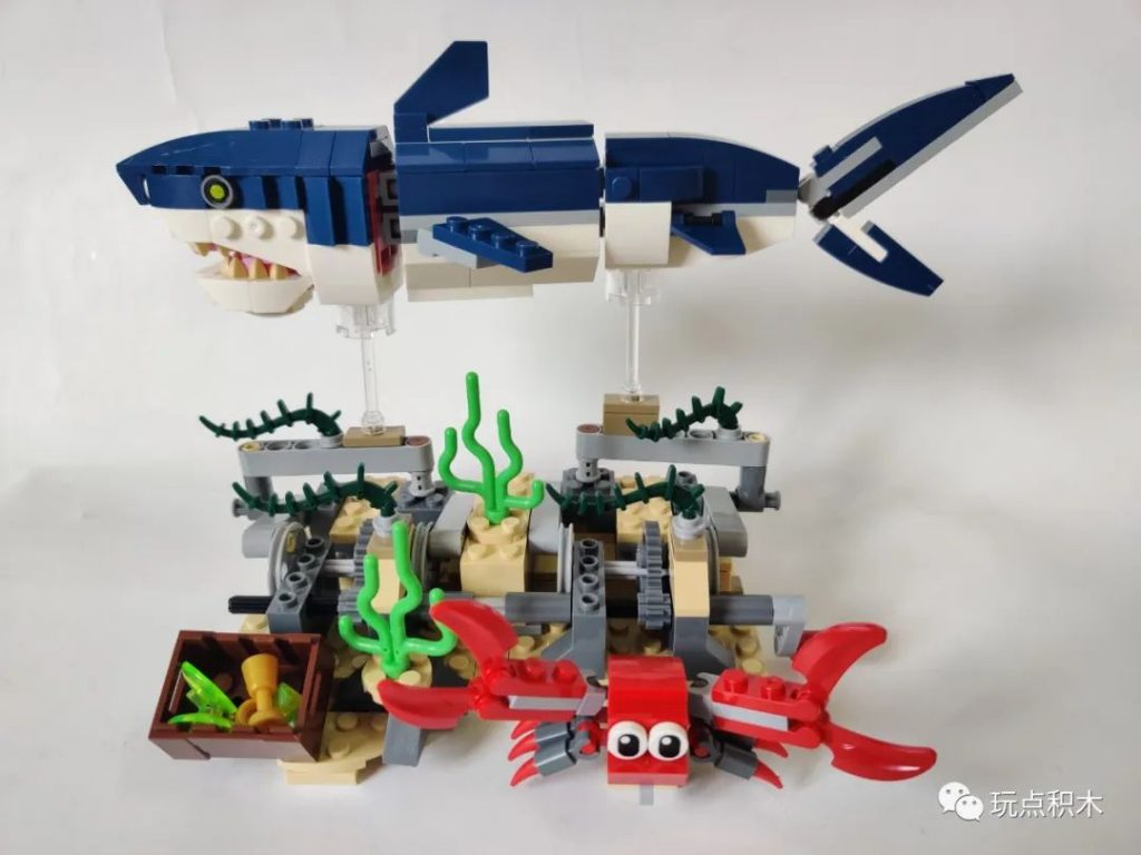 Review DECOOL 31009 Three In One: Deep Sea Creatures Creator
